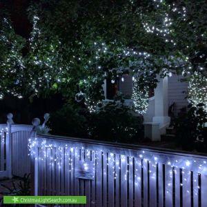 Christmas Light display at 6 Tennyson Avenue, Preston