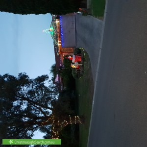 Christmas Light display at 48 Roulston Way, Wallan