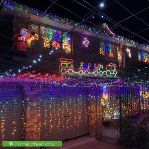 Christmas Light display at 9 Nugent Close, Jerrabomberra