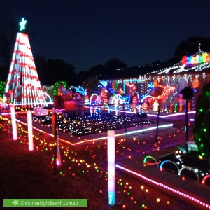Christmas Light display at 24 Edmonds Road, Angle Vale