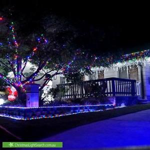 Christmas Light display at 119 Kambalda Crescent, Fisher