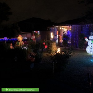 Christmas Light display at 1 Reynolds Avenue, Wheelers Hill