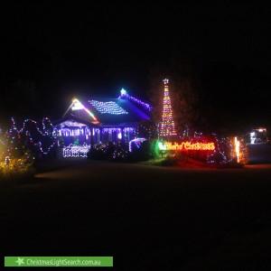 Christmas Light display at 1 Gordons Bridge Road, Kinglake