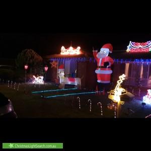 Christmas Light display at 11 Pointon Street, Aldinga Beach