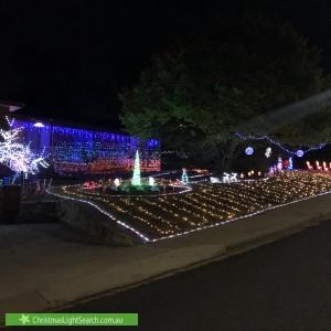 Christmas Light display at 51 Partridge Street, Fadden