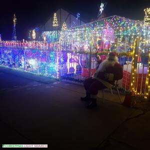 Christmas Light display at  Belmore Terrace, Woodville Park