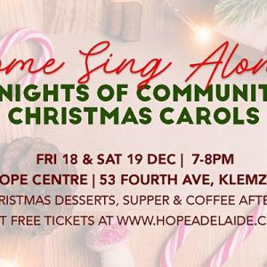 Come Sing Along | 2 Nights Of Community Christmas Carols