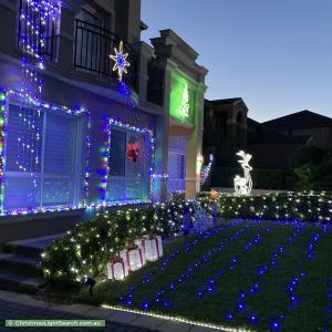 Christmas Light display at 34 Saint Pauls Avenue, Castle Hill