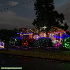 Christmas Light display at 30 Gardiner Avenue, Warradale