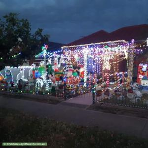 Christmas Light display at 45 Days Road, Croydon Park