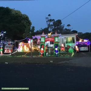 Christmas Light display at 12 Kulgoa Street, Lalor Park