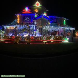 Christmas Light display at  Farmhouse Avenue, Pitt Town