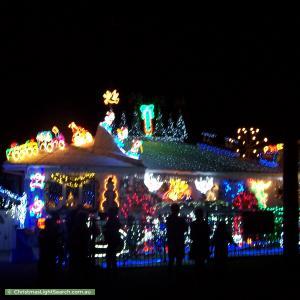 Christmas Light display at 45 Lawson Street, Lalor Park