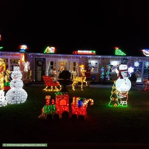 Christmas Light display at 5 Rosedale Avenue, Wattle Park