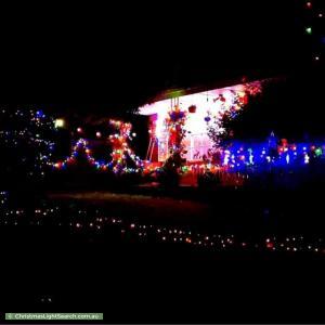 Christmas Light display at 69 Hawthory Road, Mooroolbark