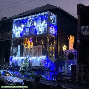 Christmas Light display at 48 Cameron Street, Birchgrove