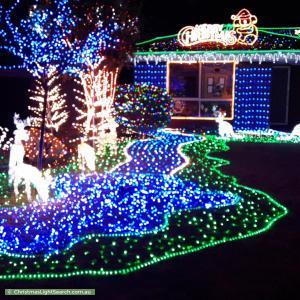 Christmas Light display at 78 Emmerson Drive, Morphett Vale