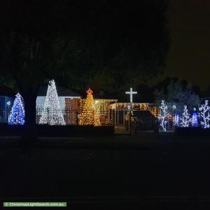Christmas Light display at 7 Carrisbrook Avenue, Punchbowl