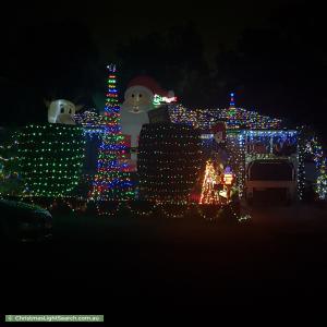 Christmas Light display at 59 Kareena Road, Miranda