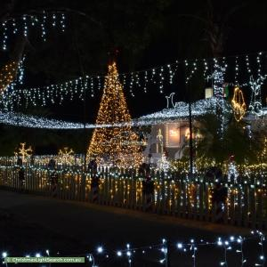 Christmas Light display at 159 Williamson Avenue, Cloverdale