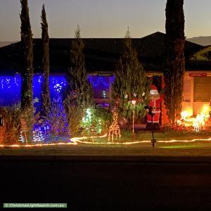Christmas Light display at 87 King Street, Wallan