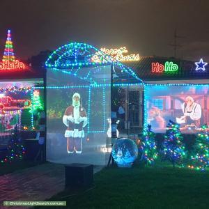Christmas Light display at 7 Grebe Street, Erskine Park