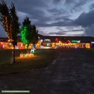 Christmas Light display at 610 North Road, Pearcedale