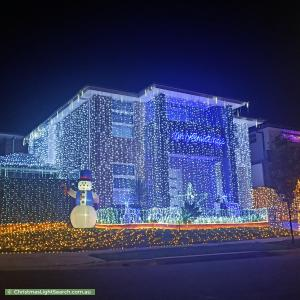 Christmas Light display at 30 Rochester Street, Gregory Hills