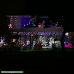 Christmas Light display at 796 Ferntree Gully Road, Wheelers Hill