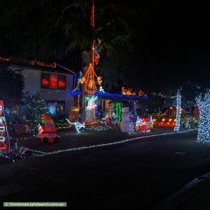 Christmas Light display at  Hordern Road, Mount Evelyn