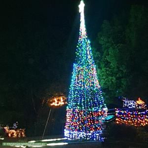 Christmas Light display at 22 Middleton Circuit, Gowrie