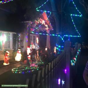 Christmas Light display at  Empress Road, Surrey Hills