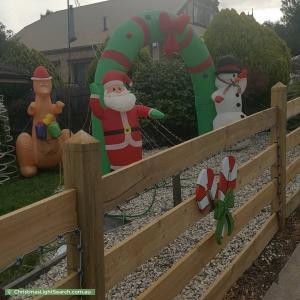 Christmas Light display at 45 Roulston Way, Wallan