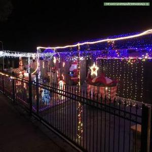 Christmas Light display at 94 Calais Circuit, Cranbourne West
