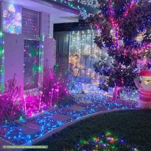 Christmas Light display at  Walseley Crescent, Gledswood Hills