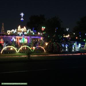 Christmas Light display at 34 Turnberry Drive, Sunbury
