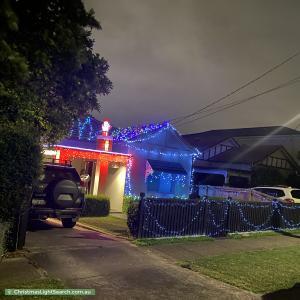 Christmas Light display at 46 Broughton Street, Concord