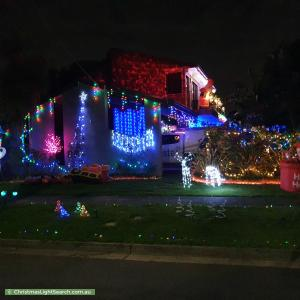 Christmas Light display at 52 Torresdale Drive, Boronia